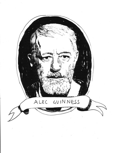 Alec Guinness - Feel to force (of the beard)