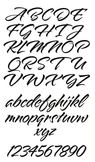 LHF Alpine Script by Arthur Vanson for Letterhead Fonts
