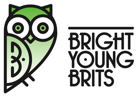 The Bright Young Brits logo by Magpie Studio