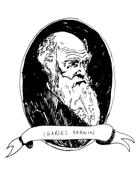 Charles Darwin - here you can see the evolution of beards