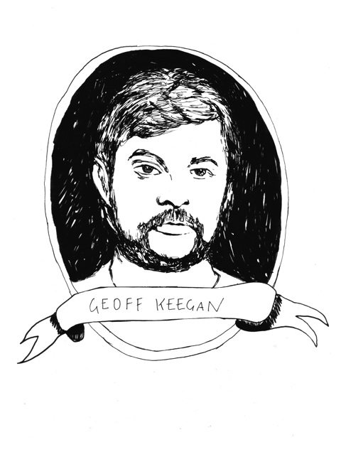 Geoff Keegan - Byker Grow one on your face