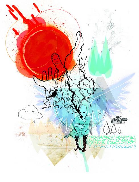 Illustrator Ben Tallon's response to Climate Kid for Unicef