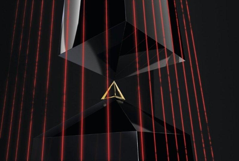 A render of the installation