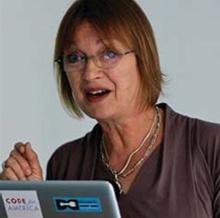 Julia Cassim, who leads the Inclusive Design Challenge