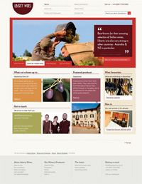 Liberty website