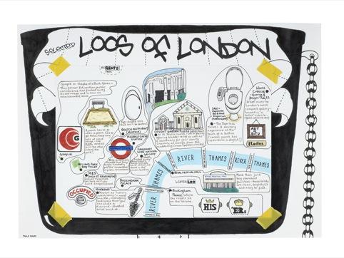 Selected loos of London