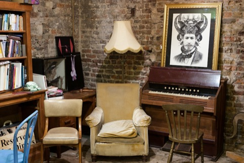 Dan Hillier's new works displayed in Wilton's Music Hall
