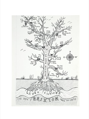 The Tree of Brixton pubs and cafes