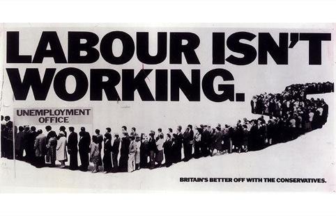 Saatchi, Labour Isn't Working,1979