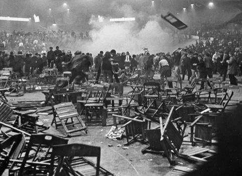 The Rolling Stones Riot 4, by Comet