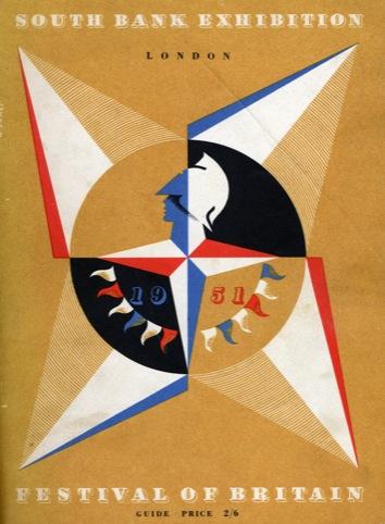 The Festival of Britain brochure cover