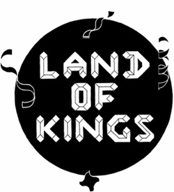 Land of Kings branding by Colin Henderson