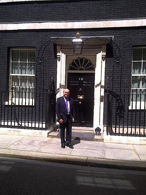 Paul Priestman at No.10