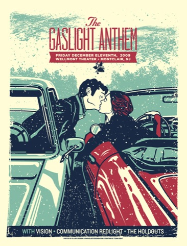 The Gaslight Anthem by El Jefe Design