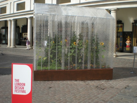 Sebastian Bergne's Lego greenhouse