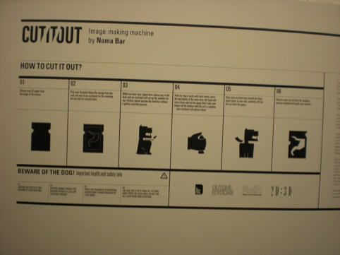 Noma Bar's Cut It Out instructions