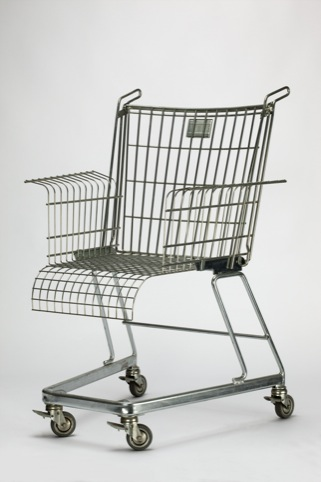 Frank Schreiner for Stiletto Studios, Consumers Rest chair 1990