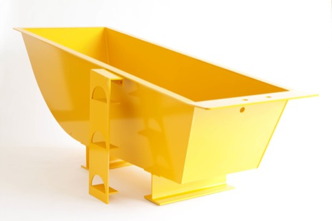 James Capper Steel Bath