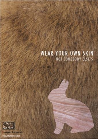 Lauren Ford's Design Against Fur poster
