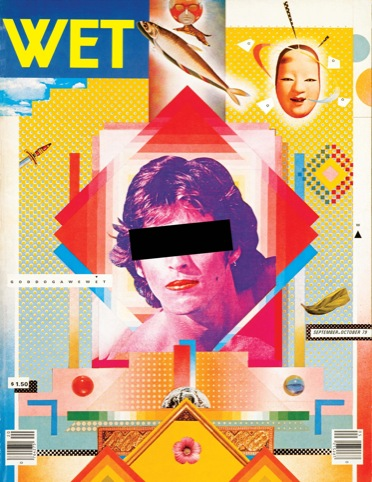 Wet magazine, April Greiman and Jayme Odgers