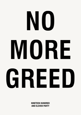 No More Greed