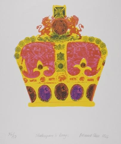 Bernard Cheese – Shakespeare's Kings, Lithograph, 1964