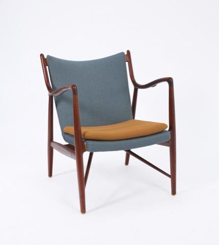 Finn Juhl, NV-45 chair, 1945