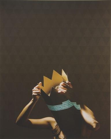 Justyna Kabala - Lady Macbeth, Photo lithograph, 2011