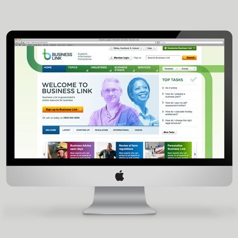 Business Link website