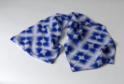 Digital Shibori, Melanie Bowles 2010, Silk Organza