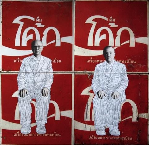 Gilbert and George on Coke