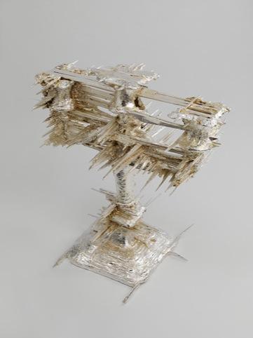 Shine, Geoffrey Mann 2010, Bronze and Silver Plate