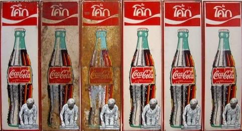 Warhol Paints on Coke