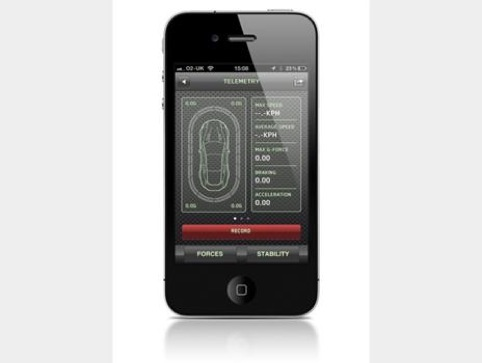 Aston Martin Experience app by Zip Design