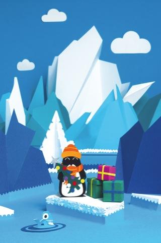 The Arctic Circle's Christmas Card by Damian O'Hara
