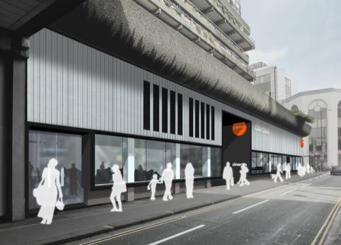 Barbican Centre Beech Street approach