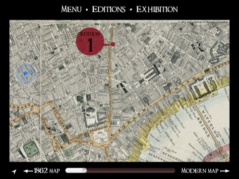 1865 map of London
