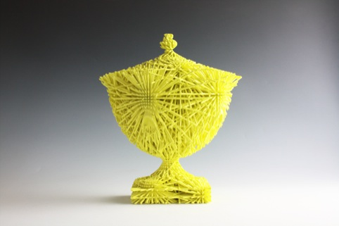 Michael Eden, Large Oval Yellow Bloom