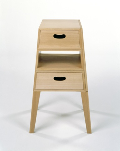 Table Chest combined coffee table and chest of drawers designed by Tomoko Azumi in 1995