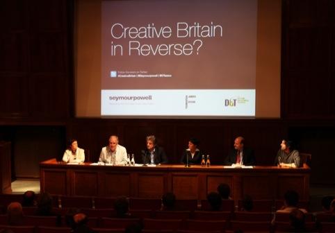 Creative Britain in Reverse panel