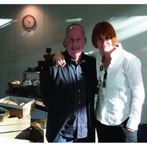 Mary Portas and Callum Lumsden