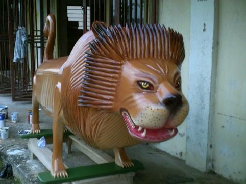 Lion by Paa Joe