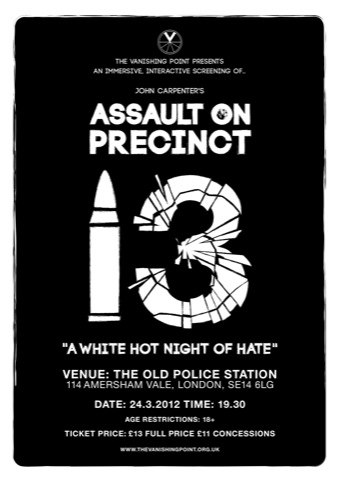 Assault on the Precinct Poster
