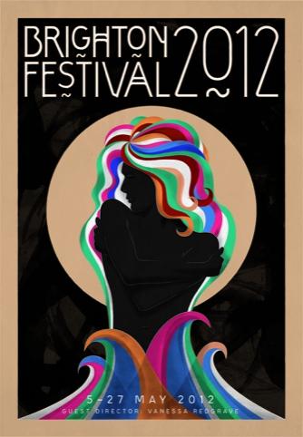 Brighton Festival 2012 brochure front cover