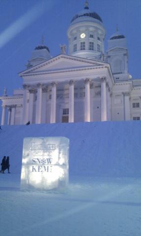 Wonderwater Frozen Lights: ice lanterns made by Helsinki citizens