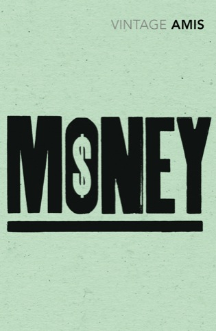Money by Martin Amis, designed by Saatchi  Saatchi