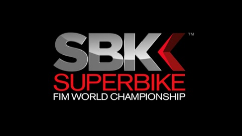 SBK logo on television