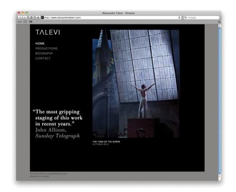 Talevi homepage