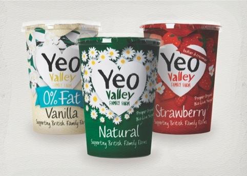 yoghurt range