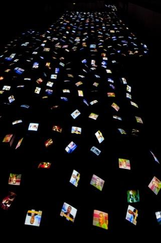 1001 TV Sets (End Piece) 1972 - 2012 , David Hall